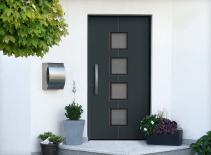 Haustür mit fenster  Fenster & Türen Welt – Fenster, Innentüren, Haustüren, Sonnenschutz